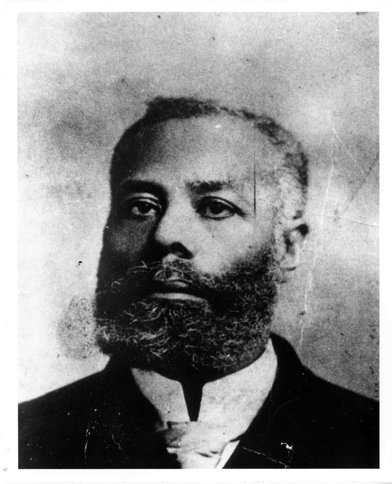 Portrait of engineer, Elijah McCoy